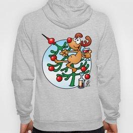 Rudolph the Red Nosed Reindeer Hoody