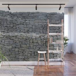 Dry stone wall Wall Mural