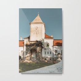 Fantast castle Serbia Metal Print