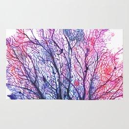 Fan Coral - Purple Rug