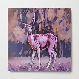 The Red Deer Metal Print