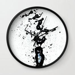 """Black Love (find the """"L"""") Wall Clock"""