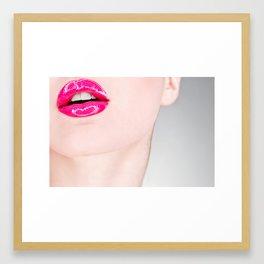 Lip Lip Framed Art Print
