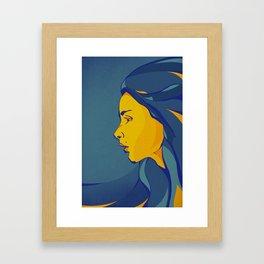 Le Femme Framed Art Print