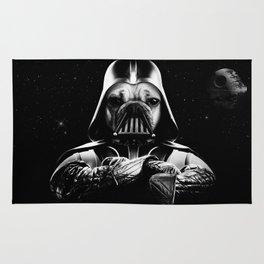 Pug Vader Rug