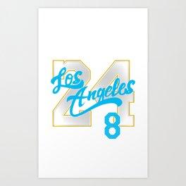 Lengends Creative jerseys Art Print