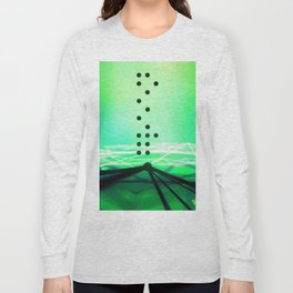 Green Abstract Passion Long Sleeve T-shirt