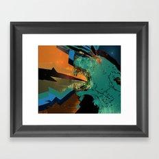 goddess-struck Framed Art Print