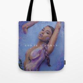 Ariana - God is a woman Tote Bag