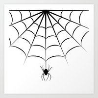 spider Art Prints featuring Spider by haroulita