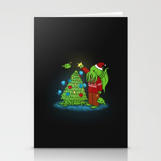 Cthulhu's Happy Holidays Stationery Cards