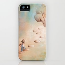 Climbing a Tree iPhone Case