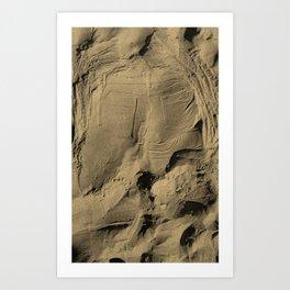 SandJeans Art Print