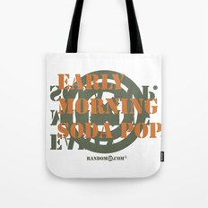Early Morning Sodapop Tote Bag