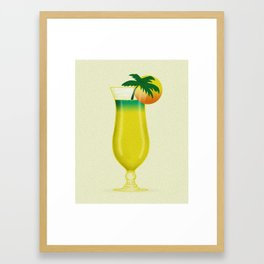 Garnish Sun Framed Art Print