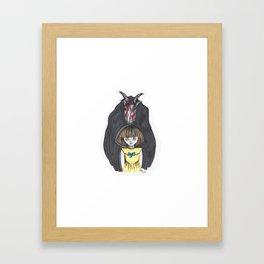 Fran Bow Framed Art Print