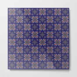 Royal [abstract pattern A] Metal Print