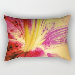 Abstract Of The Lily Rectangular Pillow