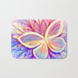 Pastel Butterfly Wings Bath Mat