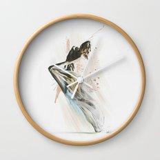 Drift Contemporary Dance Wall Clock