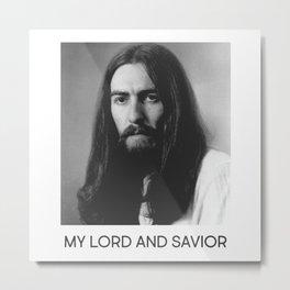My Lord and Savior Metal Print