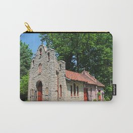 Lourdes University-  Portiuncula  Chapel in the Spring IV Carry-All Pouch