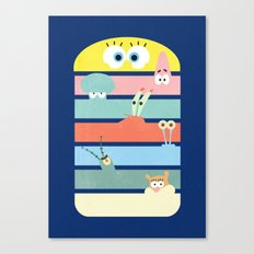 Krabby Party Canvas Print