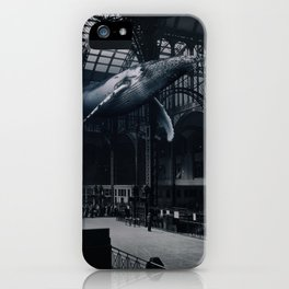 Space whale iPhone Case