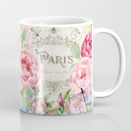 Paris Flower Market III Coffee Mug