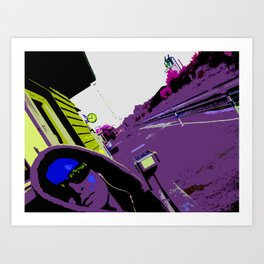 Working with Waiting Art Print