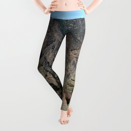 And Deep Down Is A River Leggings