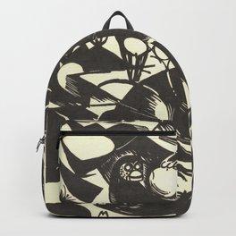 "Franz Marc ""Creation I (Schöpfungsgeschichte I)"" Backpack"