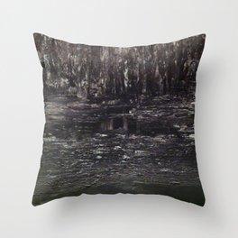 Enchanted (Brown) Throw Pillow