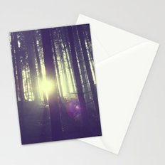 Forrest sun. Stationery Cards