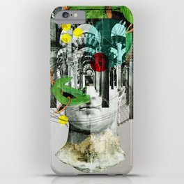 It´s all in your mind · Statue 3x iPhone Case