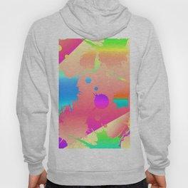 Neon Splatter Hoody
