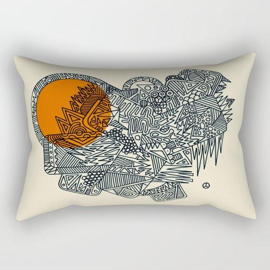 Glysko Sunset Rectangular Pillow