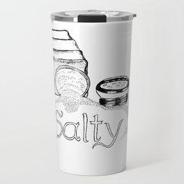 Salty - This Salt Shaker is Wide Open - Comic Travel Mug
