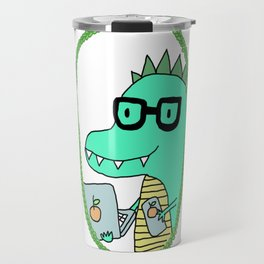 Flynn the Dinosaur || aka. the better geek Travel Mug