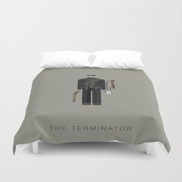 The Terminator   Famous Costumes Duvet Cover