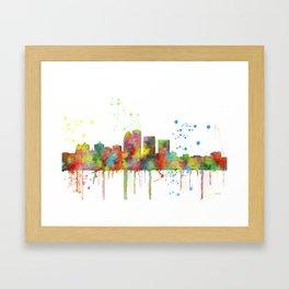 Louisville Kentucky Skyline Framed Art Print