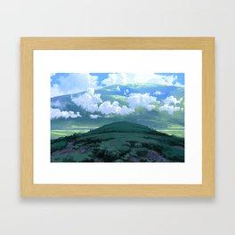Fields of Calm Framed Art Print