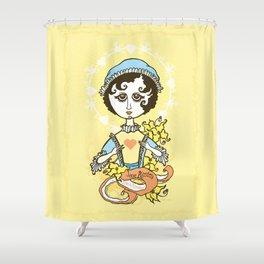Jane Austen Holy Writer Shower Curtain