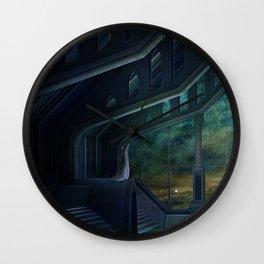 Deep space Wall Clock