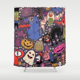 Yay for Halloween! Shower Curtain