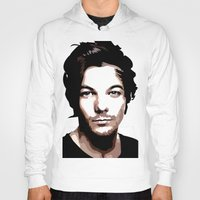 louis tomlinson Hoodies featuring LOUIS TOMLINSON Vector Portrait by LsArtistry