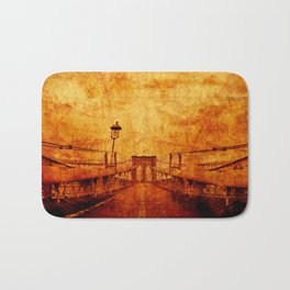 Brooklyn Burning Bath Mat