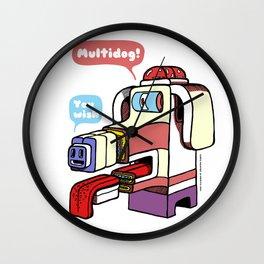 Multidog Wall Clock