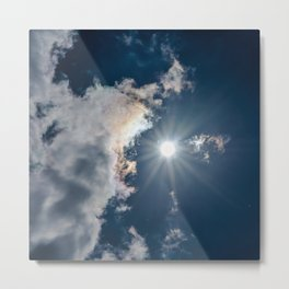 Our Sun Metal Print