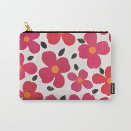 dogwood 4 sq Carry-All Pouch
